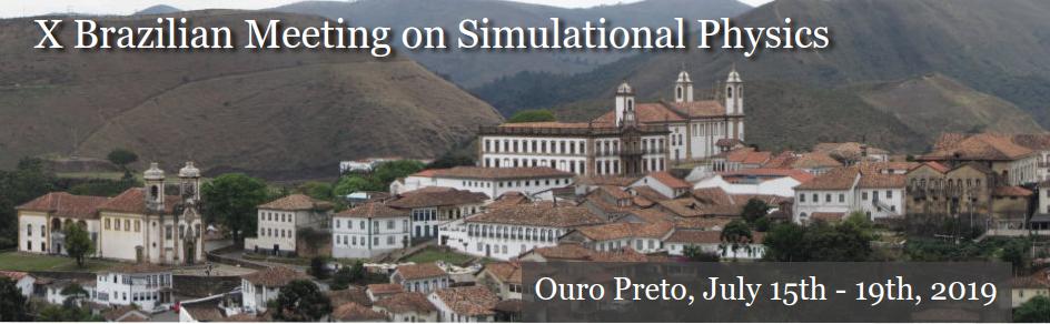 X Brazilian Meeting on Simulational Physics